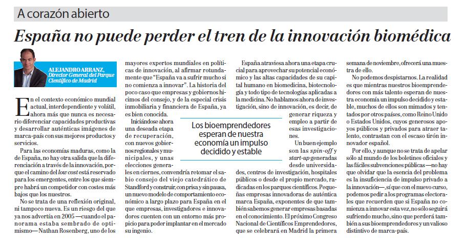 innovación biomédica