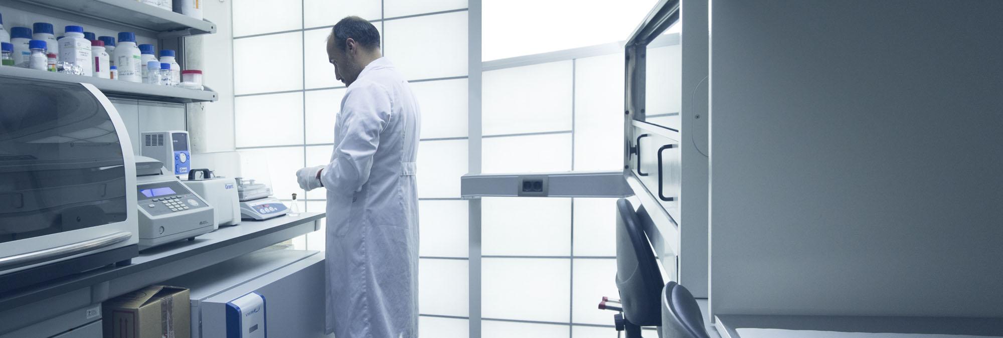 servicios científicos - Laboratorios