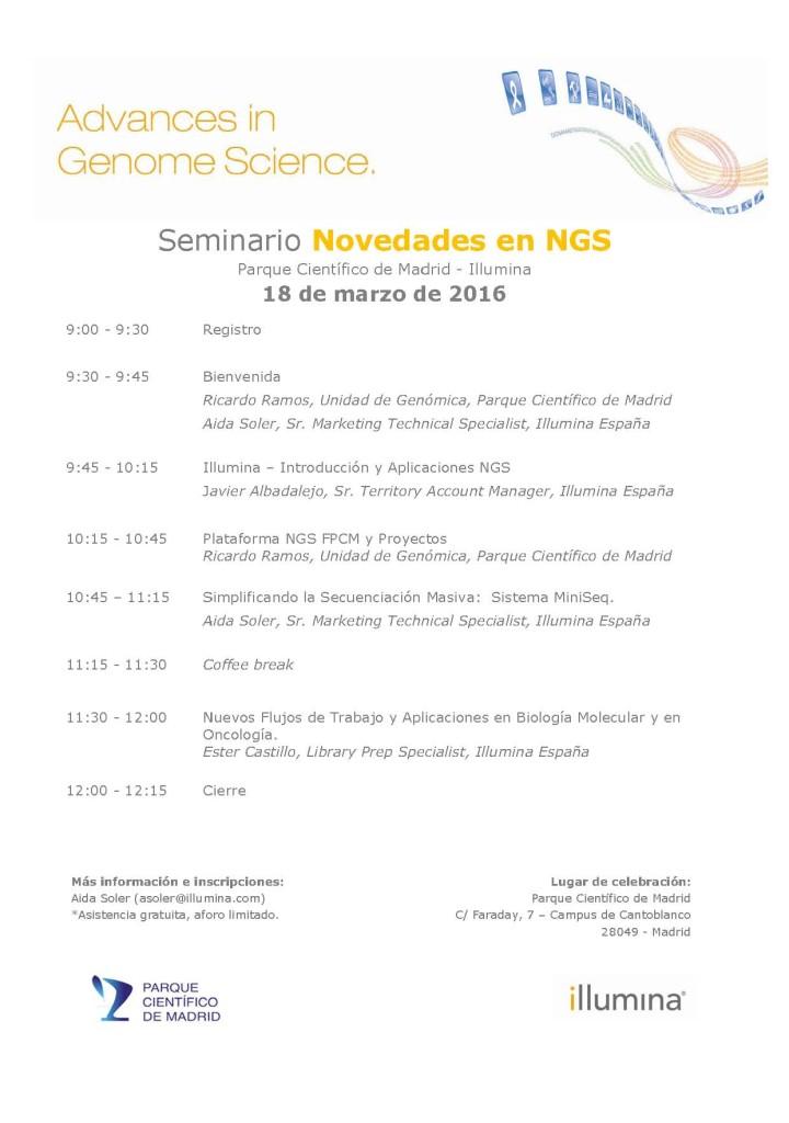 aplicaciones de la NGS