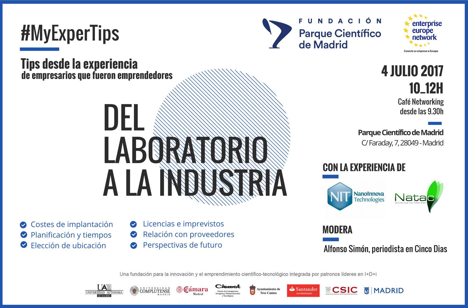 laboratorio industria