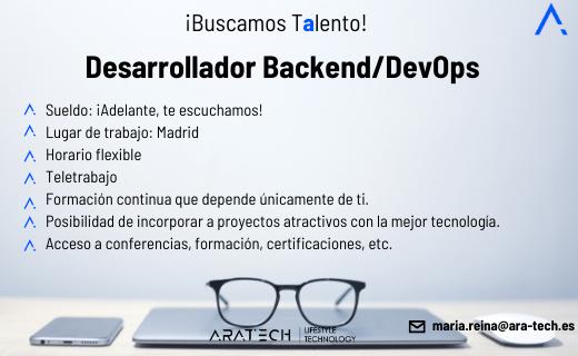 Desarrollador/a Backend/DevOps
