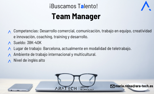 Aratech team manager