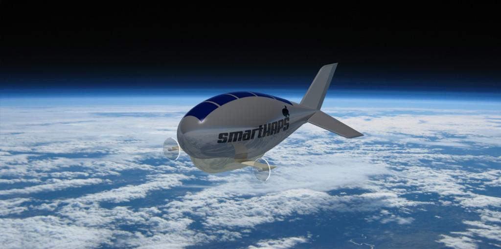 Concepto de zepelín de smartHAPS