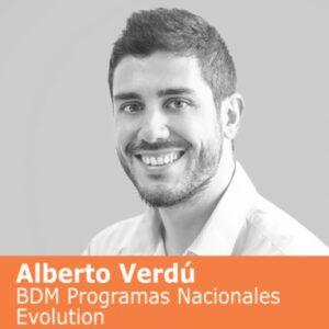 Alberto Verdú, de Evolution Euro