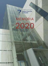 Portada de la Memoria de Actividad 2020 FPCM