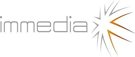 Logo de Immedia para redes sociales